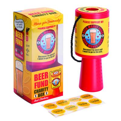 Beer Charity Fund Collection Box