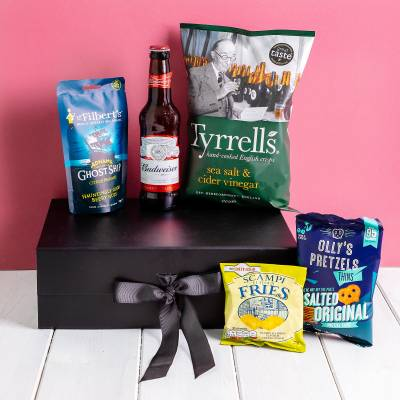 The Beer and Bar Snacks Hamper