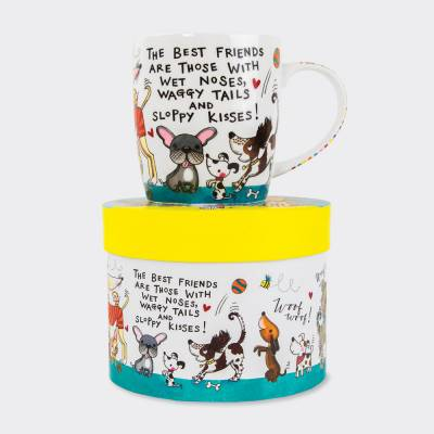 Dogs Best Friends Mug Gift Set