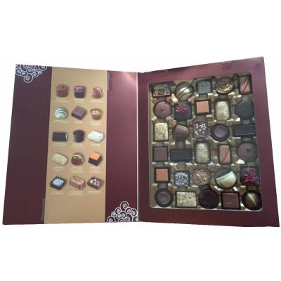 Artisan Book of 30 Belgian Chocolates