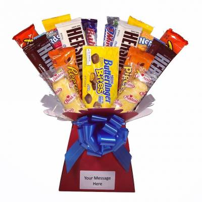 American Candy Chocolate Bouquet