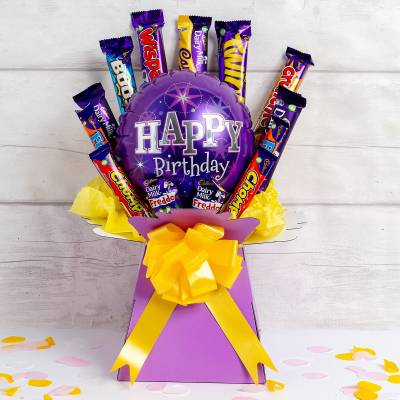 Happy Birthday Cadburys Classics Chocolate Bouquet