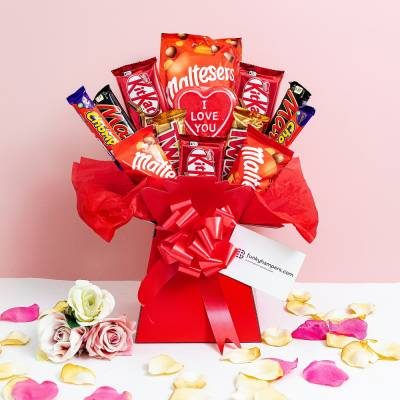 The Chocolate Love Bouquet