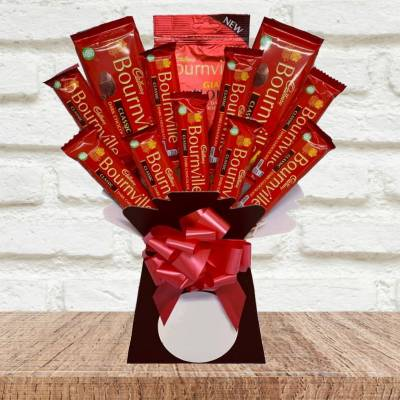 Dark Delights Funky Chocolate Bouquet