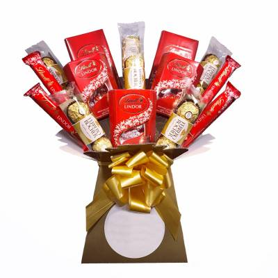 Large Ferrero Rocher and Lindor Bouquet