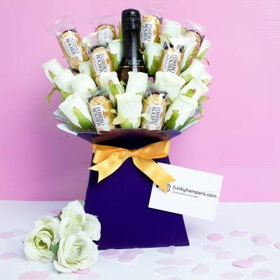 Ferrero Rocher And Prosecco Bouquet