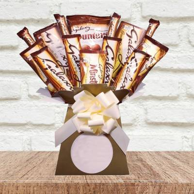 Galaxy Lovers Chocolate Bouquet