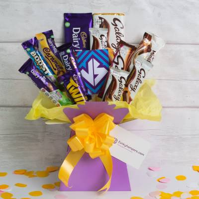 Galaxy Vs Cadbury Chocolate Bouquet