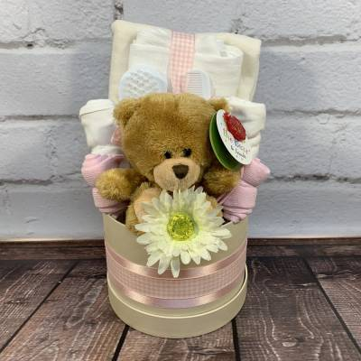 New Baby Girl Luxury Medium Hat Box