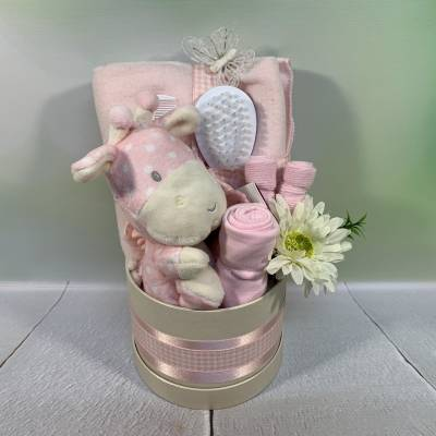 New Baby Girl Luxury Small Hat Box