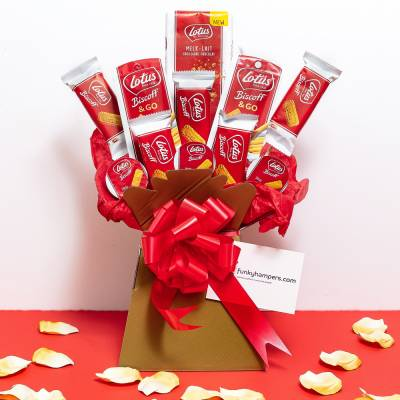 The Lotus Biscoff Lovers Bouquet