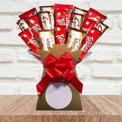 Maltesers And Galaxy Bouquet