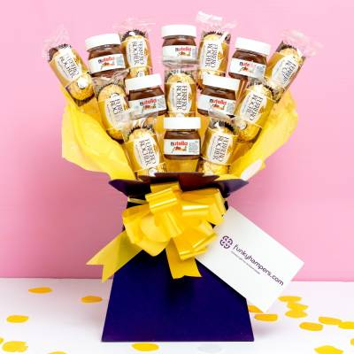 Nutella and Ferrero Rocher Bouquet