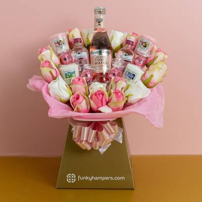 Pink Gin and Tonic, Lindor and Yankee Candle Bouquet