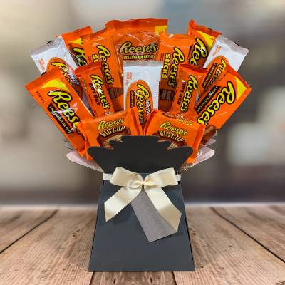 Reeses Peanut Butter Chocolate Bouquet
