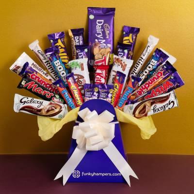 The Super Mega Chocolate Bouquet