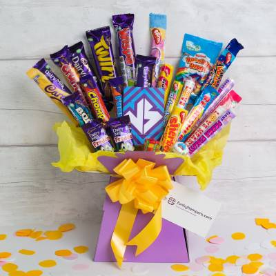 Sweets Vs Chocolate Bouquet