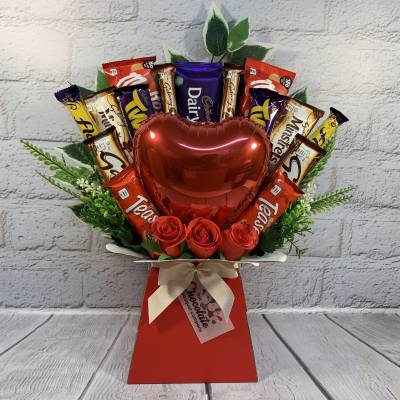 Valentines Day Chocolate Bouquet