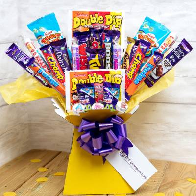 Vegetarian Sweets and Chocolate Bouquet