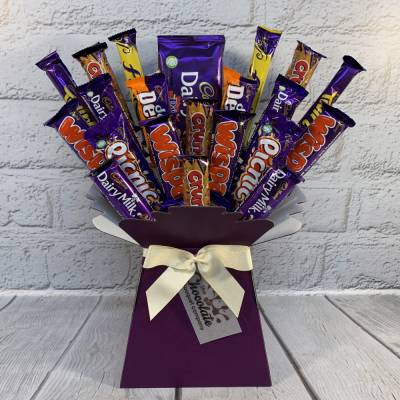 Giant Cadburys Variety Chocolate Bouquet
