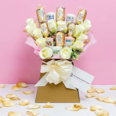 Yankee Candle and Ferrero Rocher Bouquet