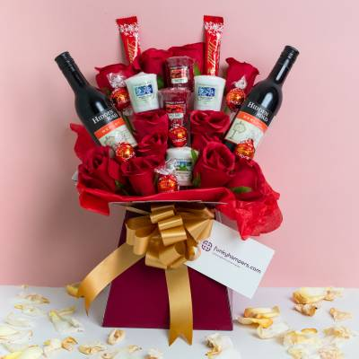 Yankee Candle, Red Wine and Lindor Chocolate Bouquet