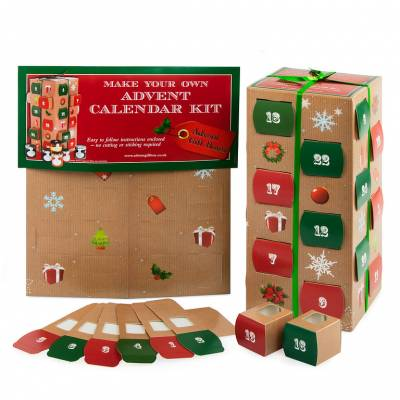 Build Your Own Advent Calendar Kit