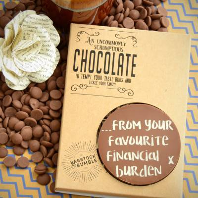 Your Favourite Financial Burden Chocolate