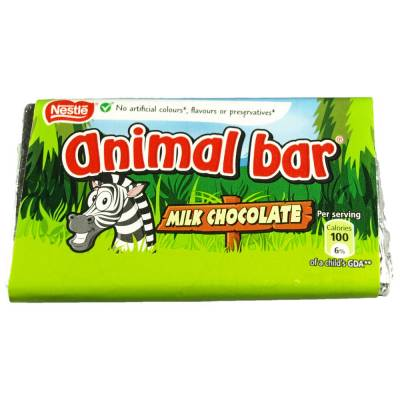 Animal Choc Bar