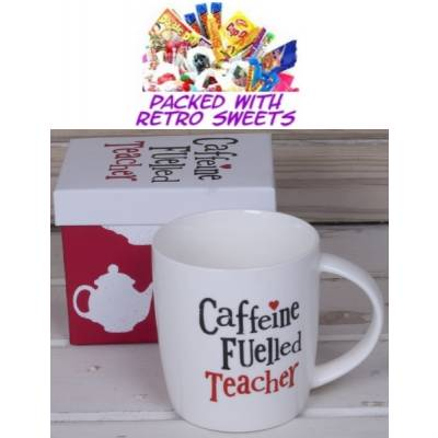 Caffeine Fuelled Teacher Cuppa Sweets