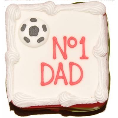 No 1 Dad Cake