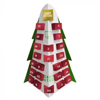 Candy Kittens Christmas Tree Advent Calendar
