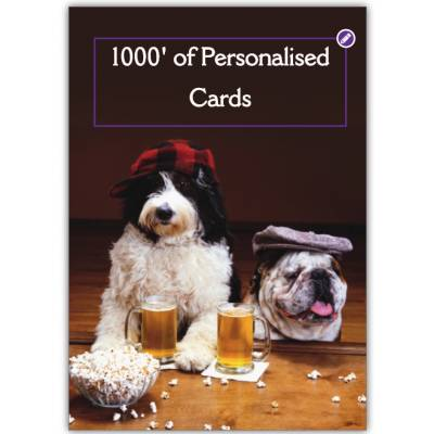 Personalised Greetings Card