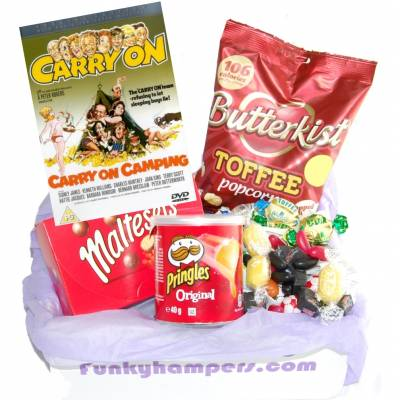 Carry On Camping Movie Box
