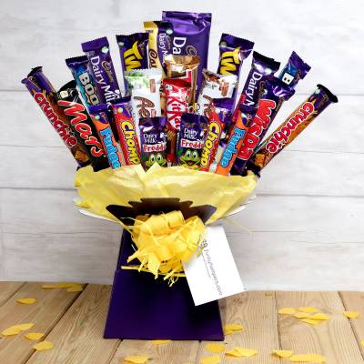 Christmas Chocolate Bouquets