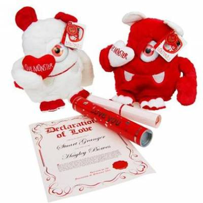 Love Monster and Personalised Scroll