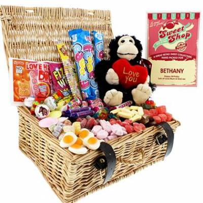 FunkyHampers Love Monkey Sweet Hamper