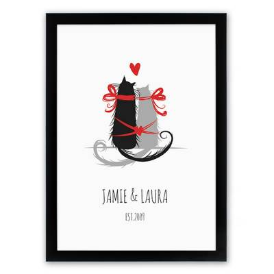 Personalised Cat Lovers Poster