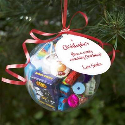 Personalised Christmas Sweet Bauble