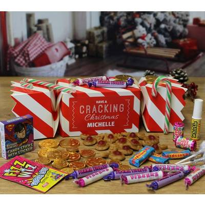 Personalised Christmas Sweet Cracker