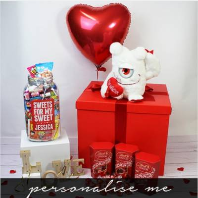 The Deluxe Valentines Day Goodies Box