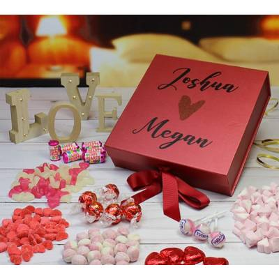 The Lovers Personalised Sweet Box