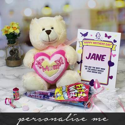 Mum Bear and Sweets - Sweets Gifts