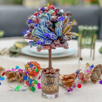 Celebrations Funky Sweet Tree 25cm