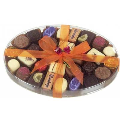 420g of Luxury Hand Made Belgian Chocolates