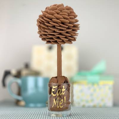 FunkyHampers Personalised Buttons Funky Sweet Tree 25cm