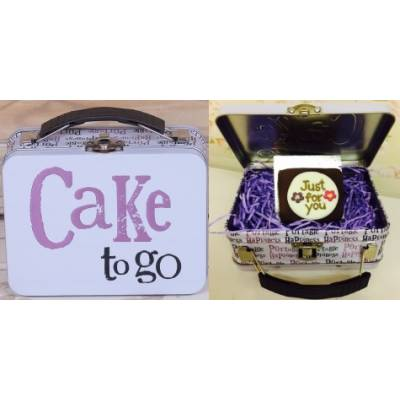 FunkyHampers Just For You Chocolate Cake Tin