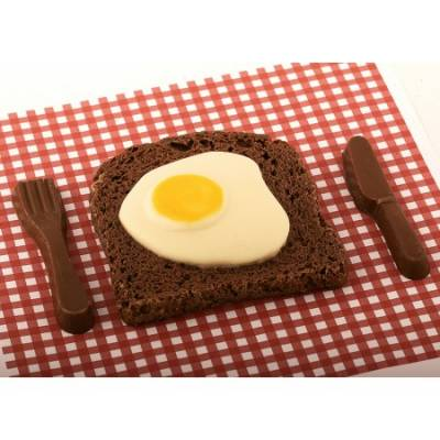 Chocolate Egg and Toast