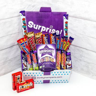 Super Deluxe Chocolate Tuck Box