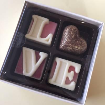 Mini Chocolate Love Box